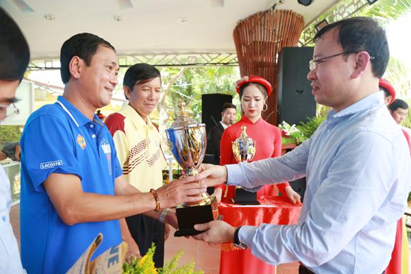 Hội thao các công ty xổ số kiến thiết khu vực miền Nam : Tiền Giang xếp hạng nhất toàn đoàn